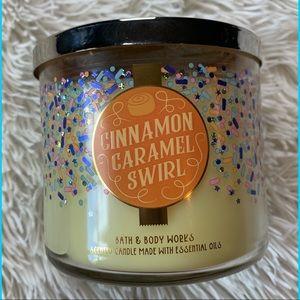 Bath & Body Works Cinnamon Caramel Swirl Candle